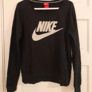 Black and White Nike Sweatshirt